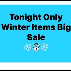 Other - ❄️☃️❄️ OFFER 1/2 Price-Selected ( marked items!!!